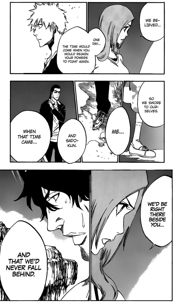 Bleach - Inoue and Sado's resolve