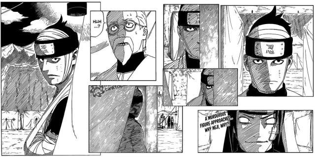 Naruto Chapter 539 - shadows