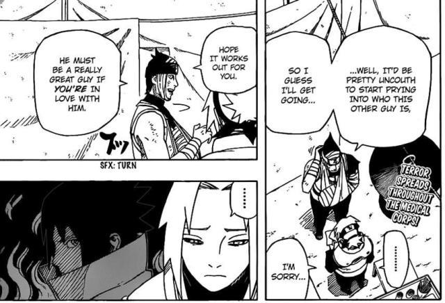 Haruno Sakura being confessed to