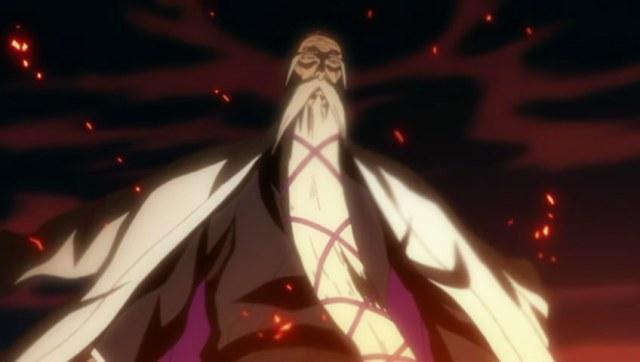 Bleach Episode 326 - Yamamoto Genryuusei1