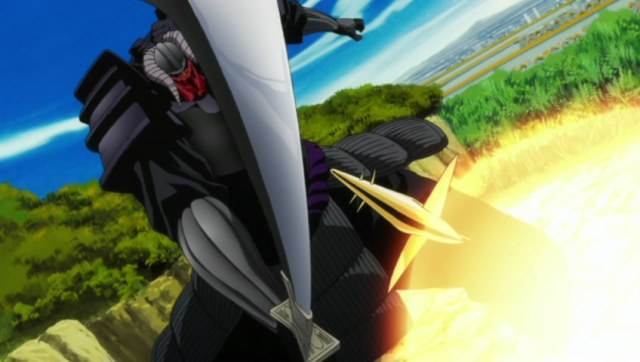 Bleach Episode 327 - Komamura Bankai versus Soi Fon Bankai