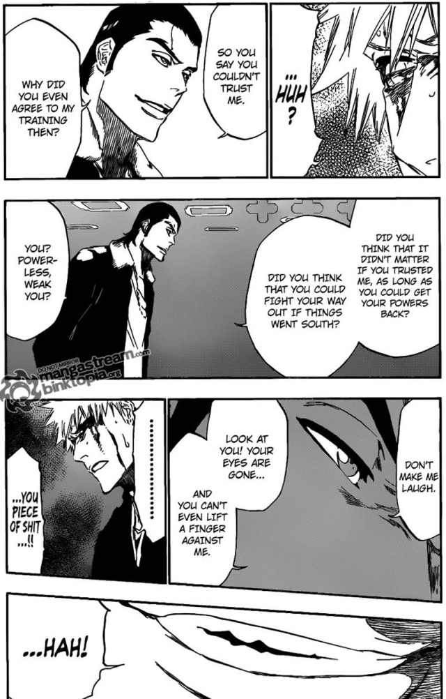 Bleach Chapter 451 - Ginjou's provocation