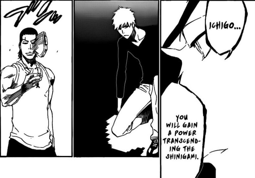Bleach Chapter 452 - Ichigo's power