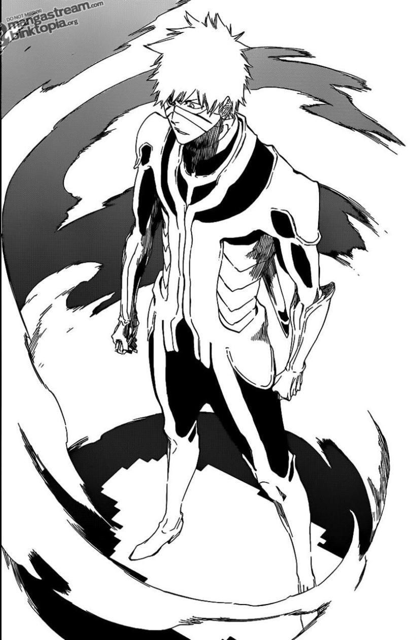 Bleach Chapter 452 - Ichigo's Fullbring - B&w