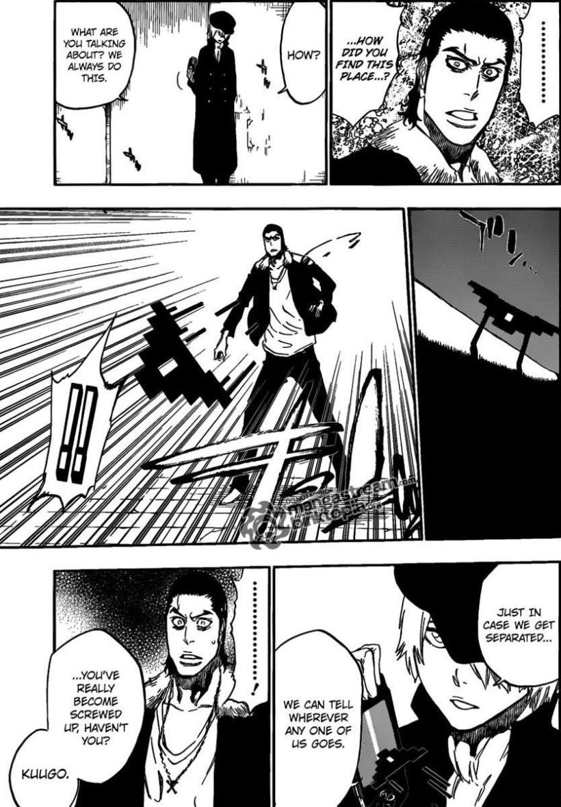 Bleach Chapter 454 - Kuugo's forgotten memories?