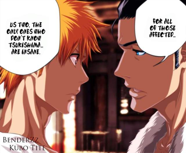 Bleach Chapter 454 - Am I crazy? Coloured by benderZz (http://benderzz.deviantart.com)