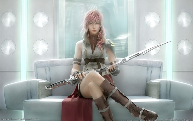FFXIII - Lightning sitting