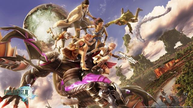 Final Fantasy XIII Wallpaper [2] by DemonVarela