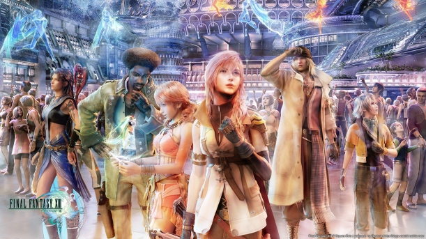 Final Fantasy XIII Wallpaper - Cast