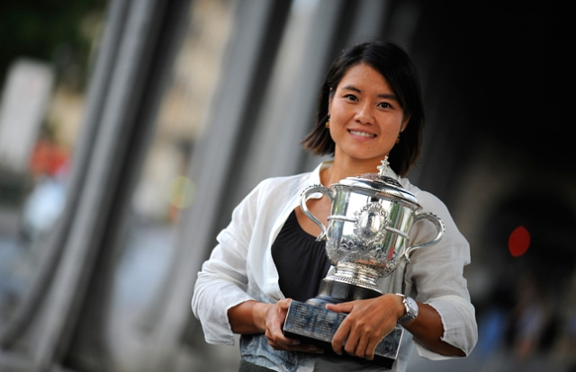 French Open - Li Na the day after her win