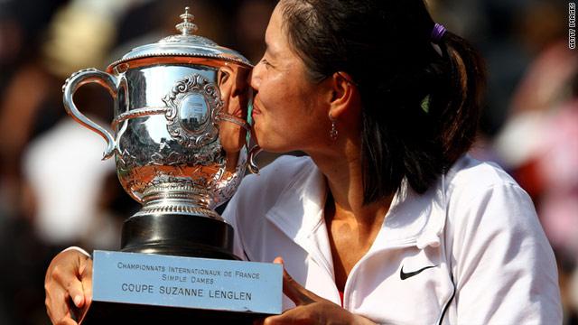 Winner of the French Open - Li Na