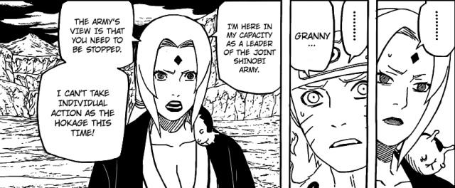 Naruto chapter 541 - Tsunade