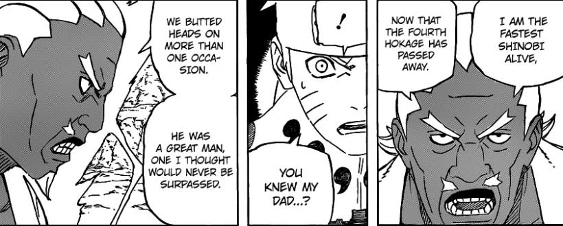 Naruto chapter 541 - Raikage 1