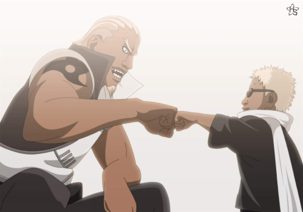 Naruto - A and B Fist Bump