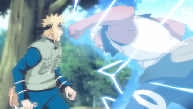 Naruto Chapter 542 - Minato vs A
