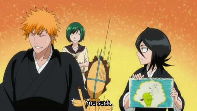 Bleach Episode 329 - Rukia's Drawing