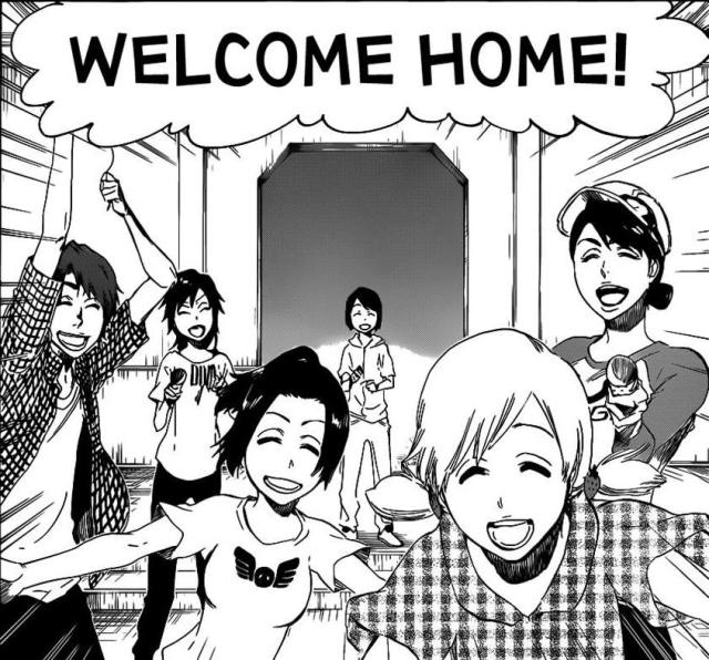 Bleach Chapter 455 - Welcome Home!