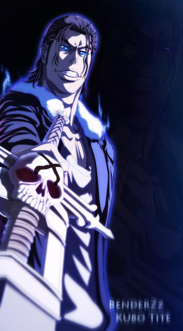 Bleach Chapter 458 - Ginjou's smile - lineart & colour by benderZz (http://benderzz.deviantart.com)