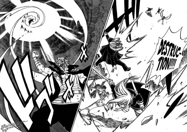 Fairy Tail Chapter 238 - Fairy Tail defeating the Seven Sins of Purgatory