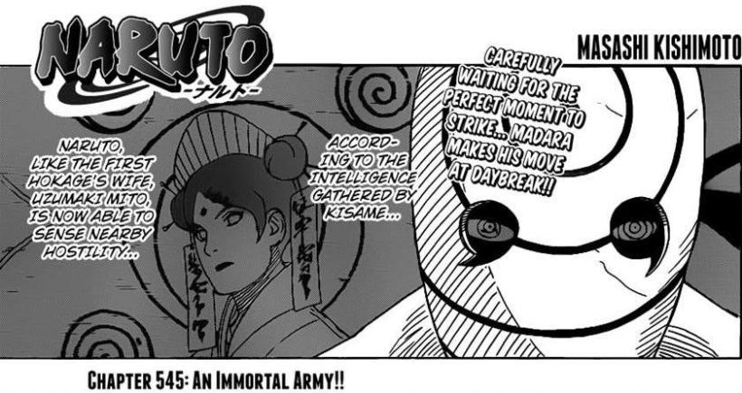Naruto Chapter 545 - Mito Uzumaki