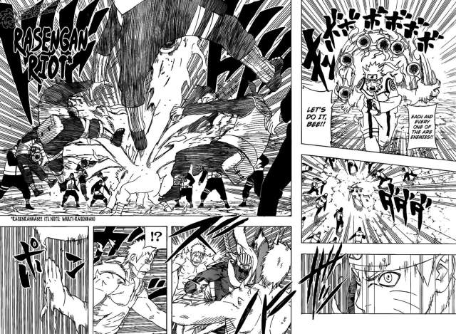 Naruto Chapter 545 - Naruto's power