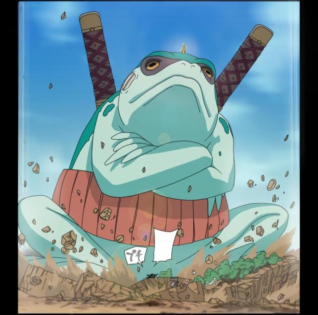 Naruto Chapter 545 - Gamhiro - coloured by COH-ru (http://coh-ru.deviantart.com)