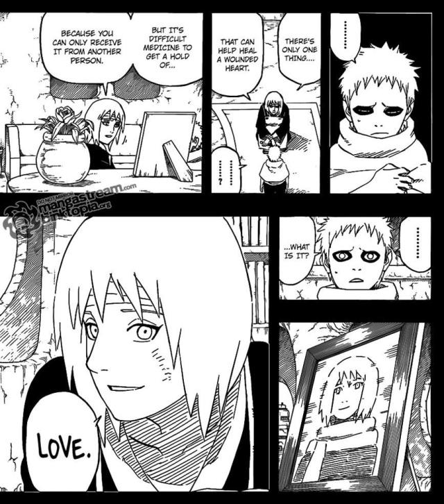 Naruto Chapter 548 - The Medicine called Love