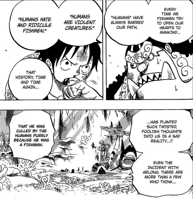 One Piece Chapter 629 - Jinbe's desires