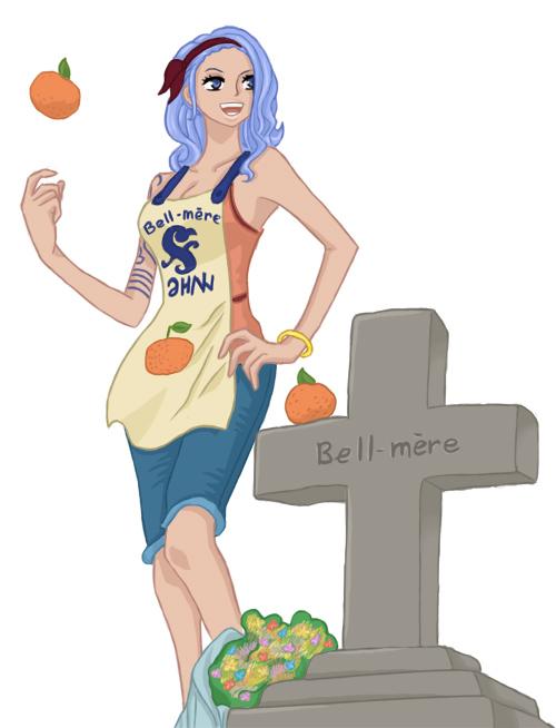 One Piece Chapter 629 - Nojiko coloured by NichtVOBLA (http://nichtvobla.deviantart.com)