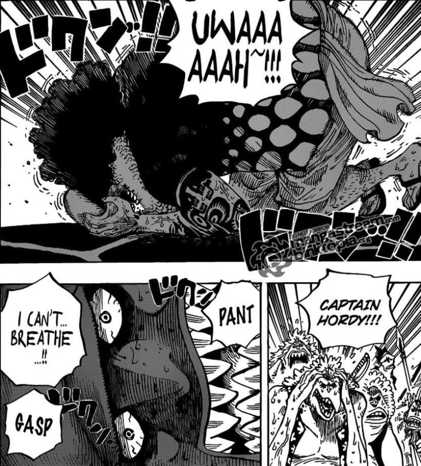 One Piece Chapter 630 - the side-effects of the energy steroids