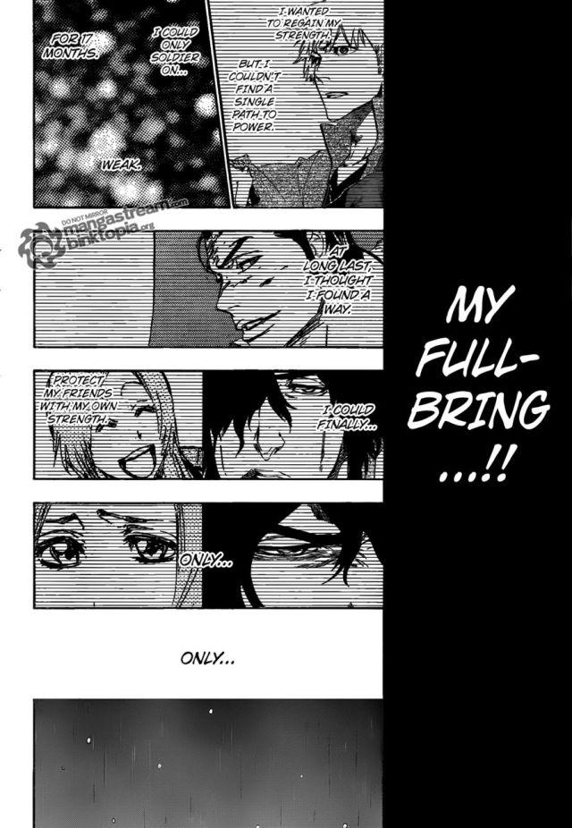 Bleach Chapter 459 - Ichigo's desparation