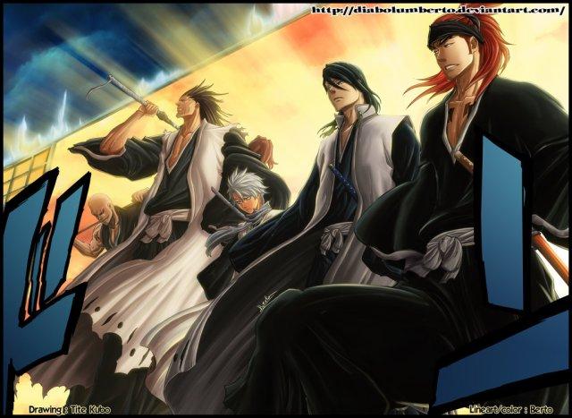 Bleach Chapter 460 - Shinigami Return by diabolumberto (http://diabolumberto.deviantart.com)