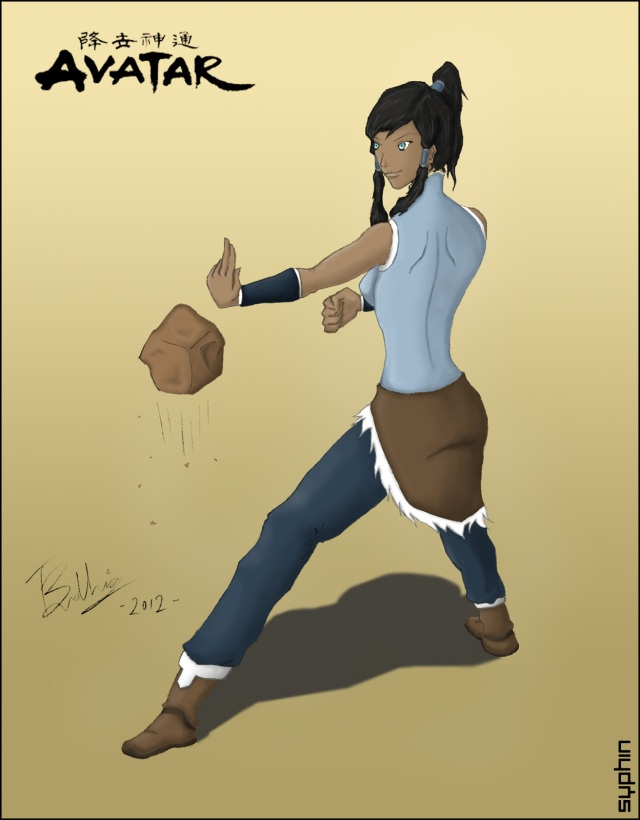 Drawing-Avatar-Korra-1v4.2c - by Syphin