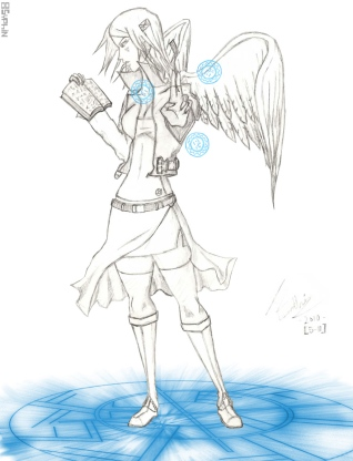 Original Character - Female Angelic Magus