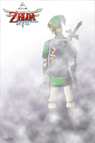Drawing-TLoZ-Link-v2.5Clouds - by Syphin
