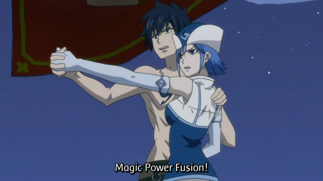 Fairy Tail Episode 72 - Gray and Juvia Unison Raid