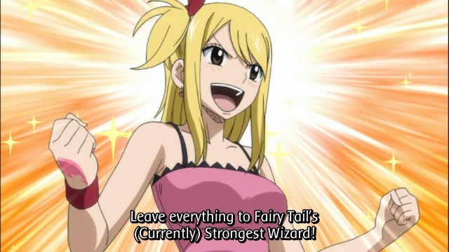 Fairy Tail Episode 81 - Lucy1