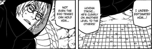Naruto Chapter 550 - Itachi's skill
