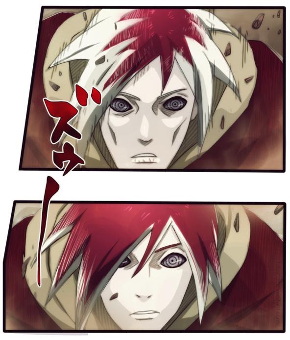 Naruto Chapter 550 - Nagato - coloured by tobari21 (http://tobari21.deviantart.com)