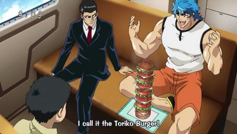 Toriko Episode 07 - Toriko Burger