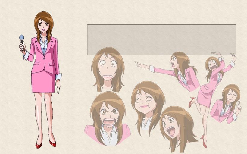 Toriko - The Gourmet Newscaster Tina