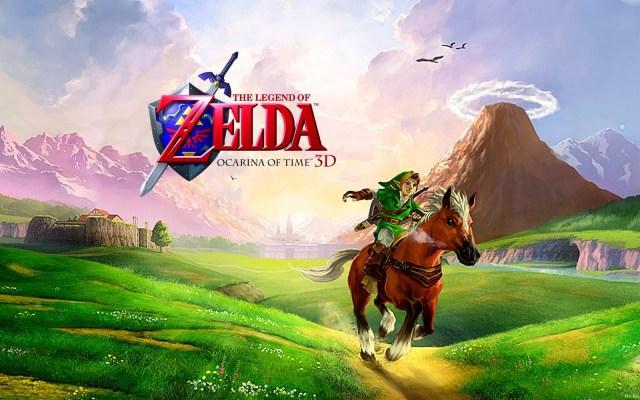 The Legend of Zelda Ocarina of Time 3D
