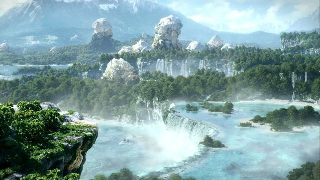 Final Fantasy XIV Online - Waterfall