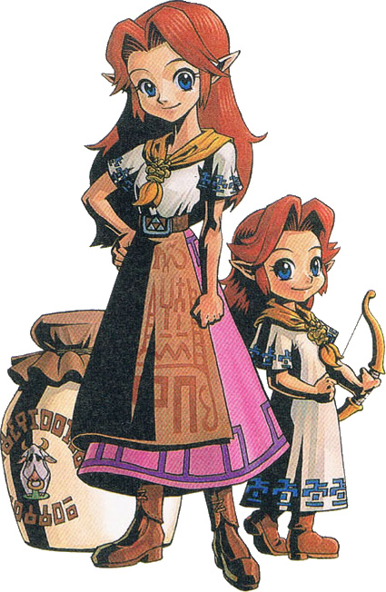 Majora' s Mask - Cremia and Romani