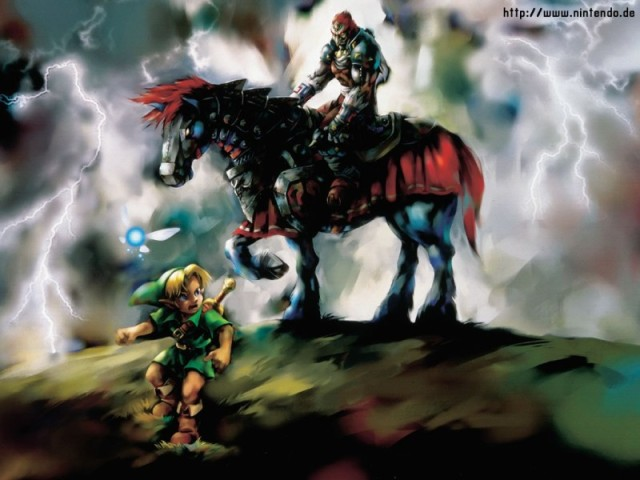 The Legend of Zelda: Ocarina of Time - Link and Ganondorf WP