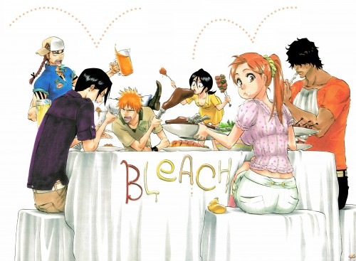 Bleach Cast - manga by Kubo Tite