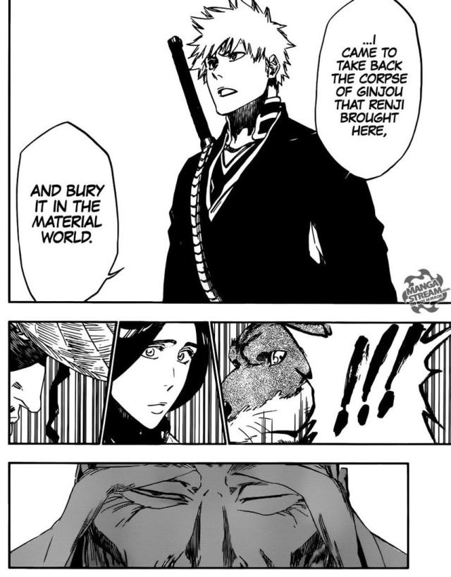 Bleach Chapter 479 - Ichigo's decision