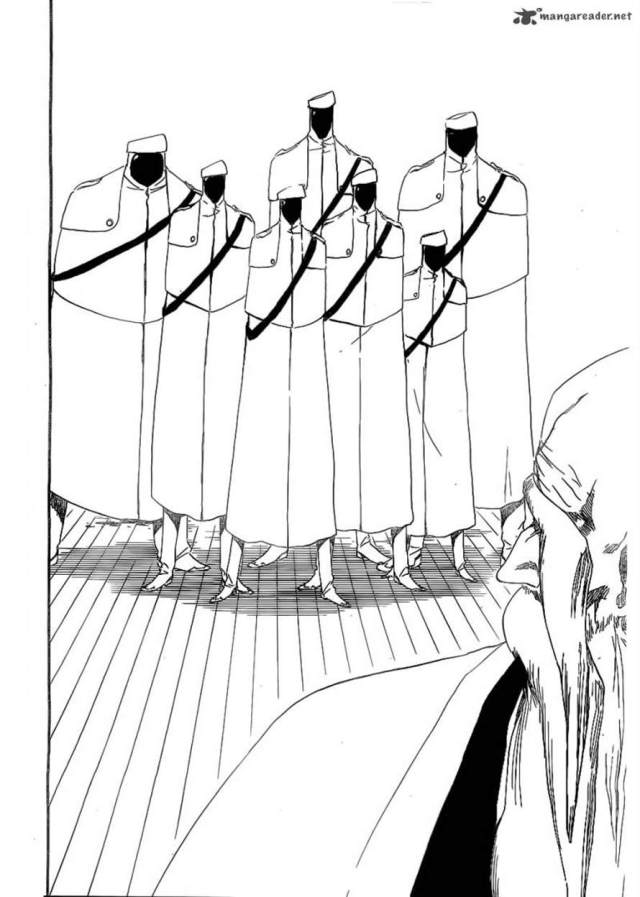 Bleach Chapter 482 - Guests?