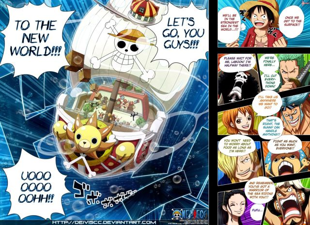 One Piece Chapter 653 - color by DEIVISCC