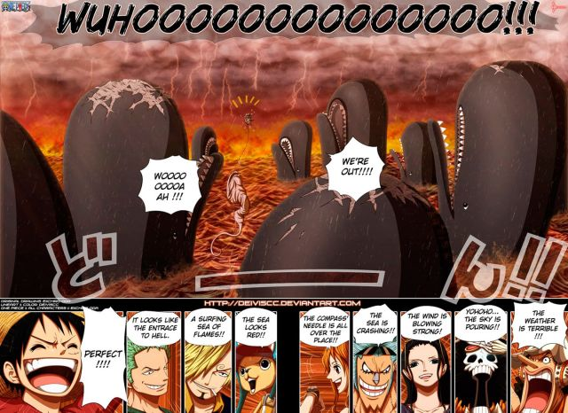 One Piece Chapter 654 - color by DEIVISCC